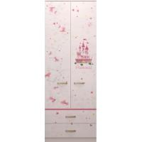 Шкаф для одежды с ящиками Принцесса 20