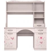 Стол письменный с надстройкой Принцесса 6+11