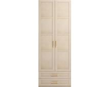 Шкаф для одежды 2-х дв. Скандинавия-Люкс-1