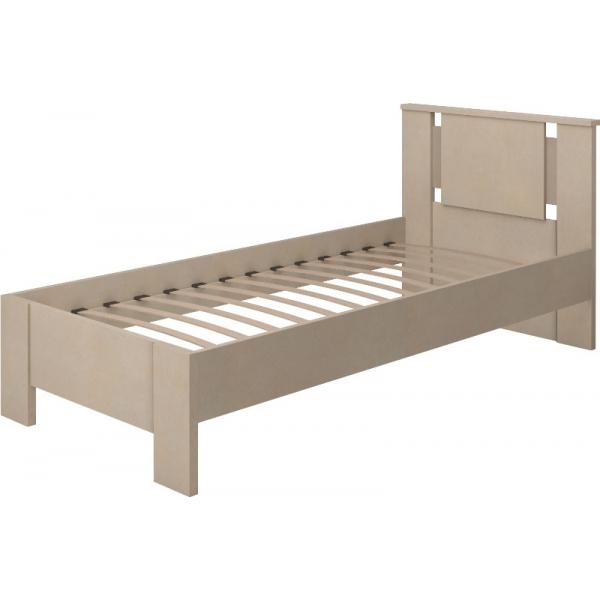 Кровать одинарная на 910 с латами Скандинавия-Люкс-10