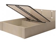 Кровать двойная на 160 Скандинавия-Люкс-2 с подъемным механизмом