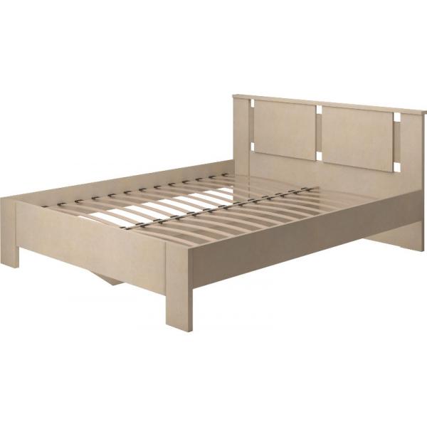 Кровать двойная на 160 Скандинавия-Люкс-2 с основанием