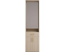 Шкаф комбинированный с зеркалом Скандинавия-Люкс-28
