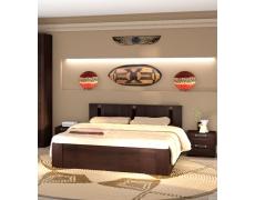 Кровать двойная Скандинавия-2 с подъемным механизмом