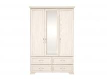 Шкаф для одежды Венеция-1 с ящиками и зеркалом