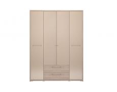Шкаф 4-х дверный с ящиком Вива-9