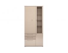 Шкаф комбинированный 2-х дверный Вива-1