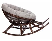 Кресло-качалка MI-005 Papasan ROCKER CHAIR с подушкой