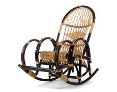 Кресло-качалка Клуша с подножкой