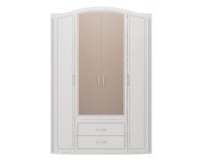 Шкаф для одежды 4-х дв. Виктория-2 с зеркалом