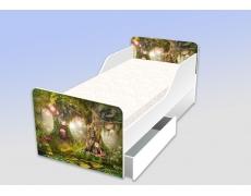 Кровать классика Сказочный лес