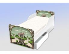 Кровать классика Сказочный замок