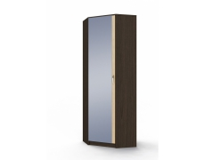 Шкаф угловой с зеркалом (ШУЗ) Ольга