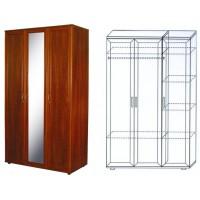 Шкаф 3-х дверный ШК-4 с зеркалом