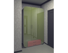 Мадейра 12 Шкаф распашной