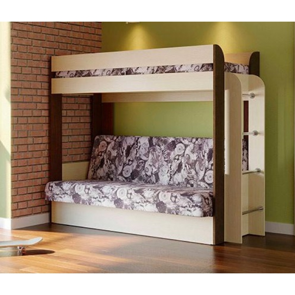 Кровать двухъярусная Немо (Лас Вегас)
