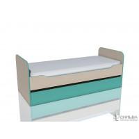 Кровать с выкатным спальным местом Рико НМ 014.43.00