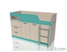 Кровать с поворотным столом Рико НМ 011.55