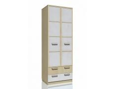 Шкаф для одежды с ящиками Фанк НМ 013.02-03 М