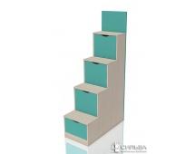 Лестница с ящиками Рико НМ 011.64