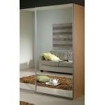 Зеркало на 1 дверь серебро +1 300 ₽