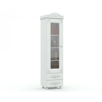 Стеллаж со стеклянной дверью Ассоль АС-01