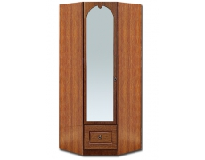 Шкаф угловой с зеркалом Кэт-2 Эвита
