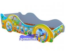 Кроватка Субмарина рыбки