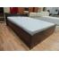 Кровать Мелисса 1600 с одной спинкой и двумя ящиками