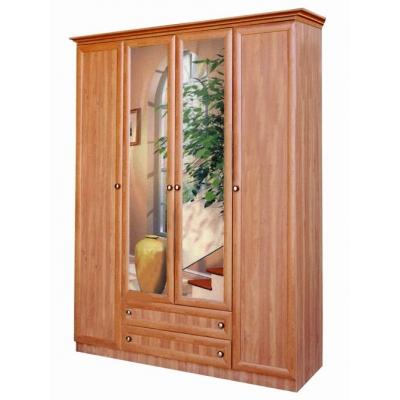 Распашной шкаф с зеркалами Диона