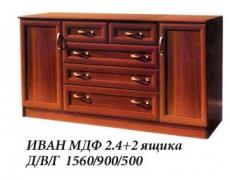 Комод Иван МДФ 2.4+2