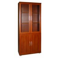 Шкаф для книг со стеклом МД 2.03.