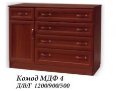 Комод МДФ 4