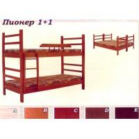 Двухъярусная кровать Пионер 1+1