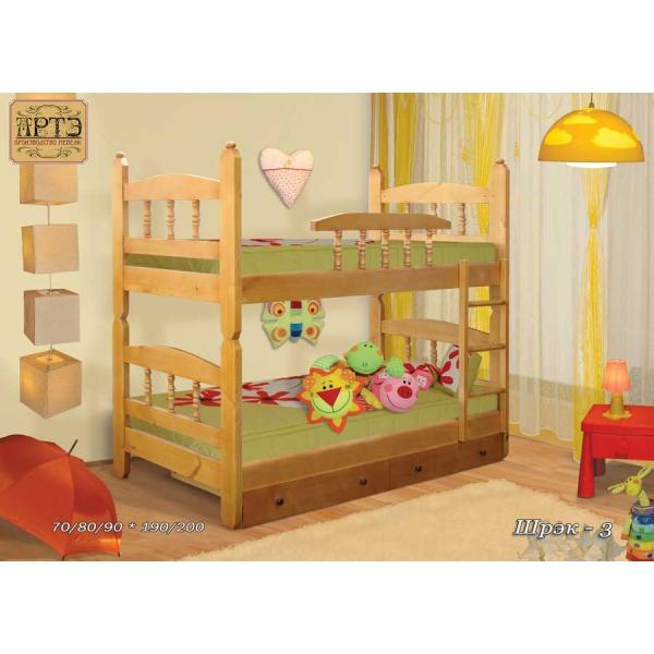 Кровать двухъярусная Шрек-3