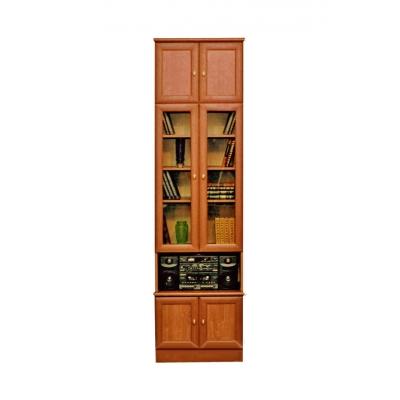"""Книжный шкаф с антресолью """"валентин-2""""."""
