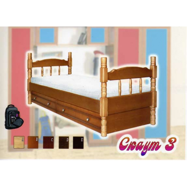 Детская кровать Скаут 3