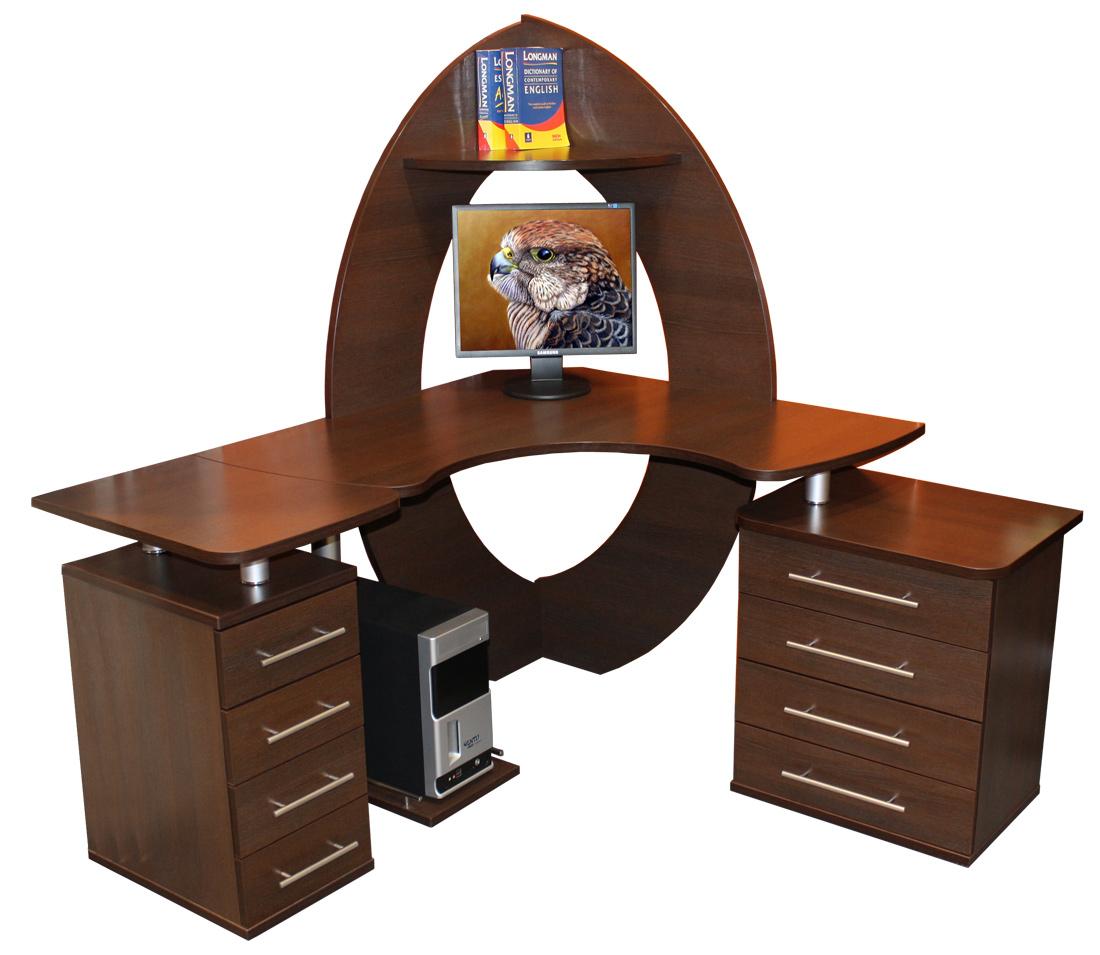 """Угловой компьютерный стол """"сокол мебель"""" кст-101, кт-101, кт."""